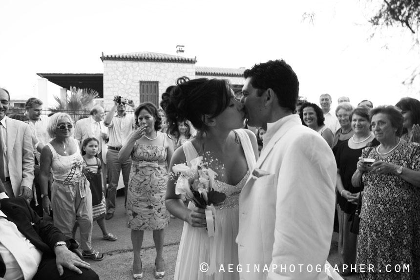 Ο Γάμος του Θέμη & της Σοφίας στους Αγίους Αναργύρους