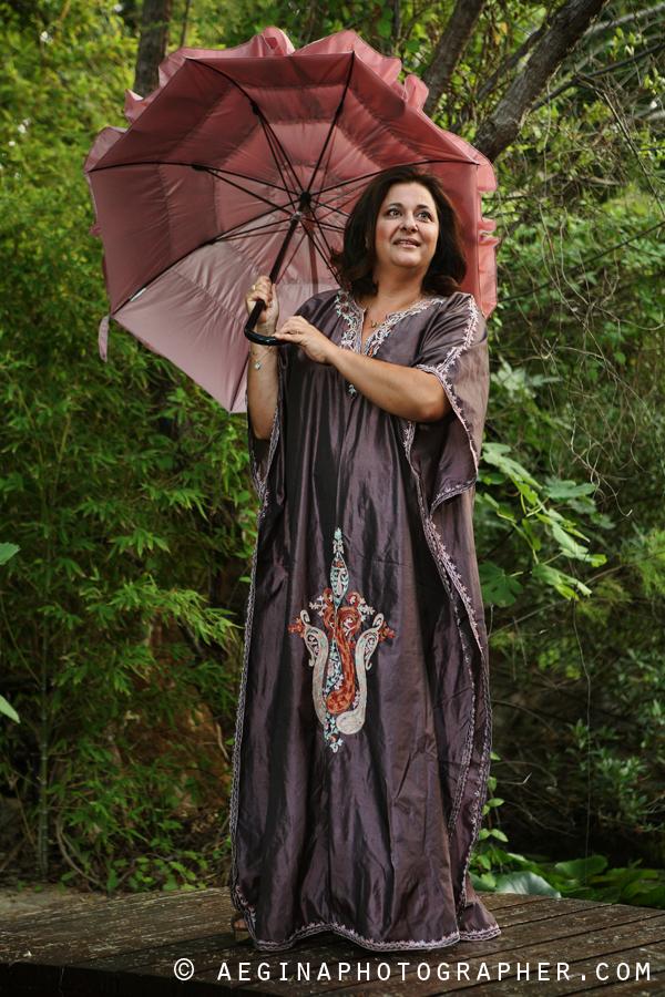 Ελισάβετ Κωνσταντινίδη - Φωτογράφιση στην Αίγινα