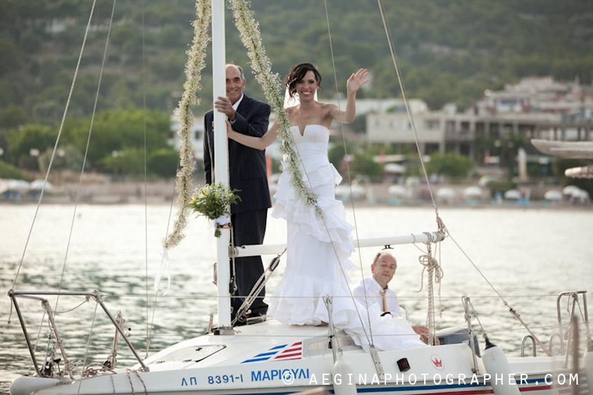 Γαμος Αγία Μαρίνα Αίγινας32