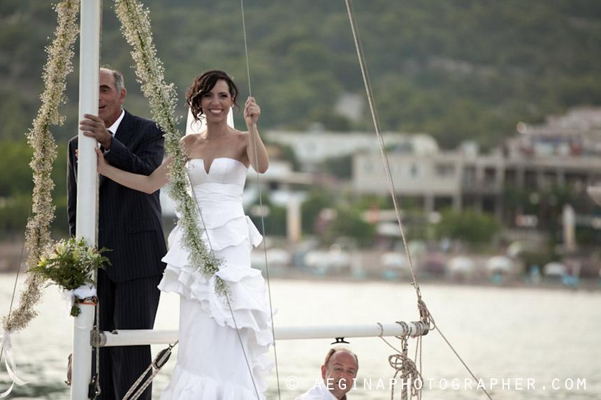 Γαμος Αγία Μαρίνα Αίγινας33