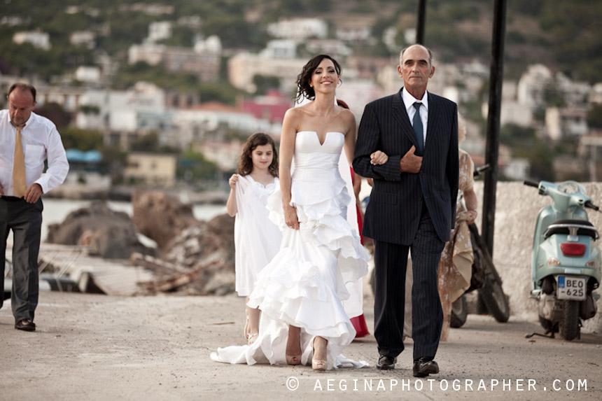 Γαμος Αγία Μαρίνα Αίγινας37