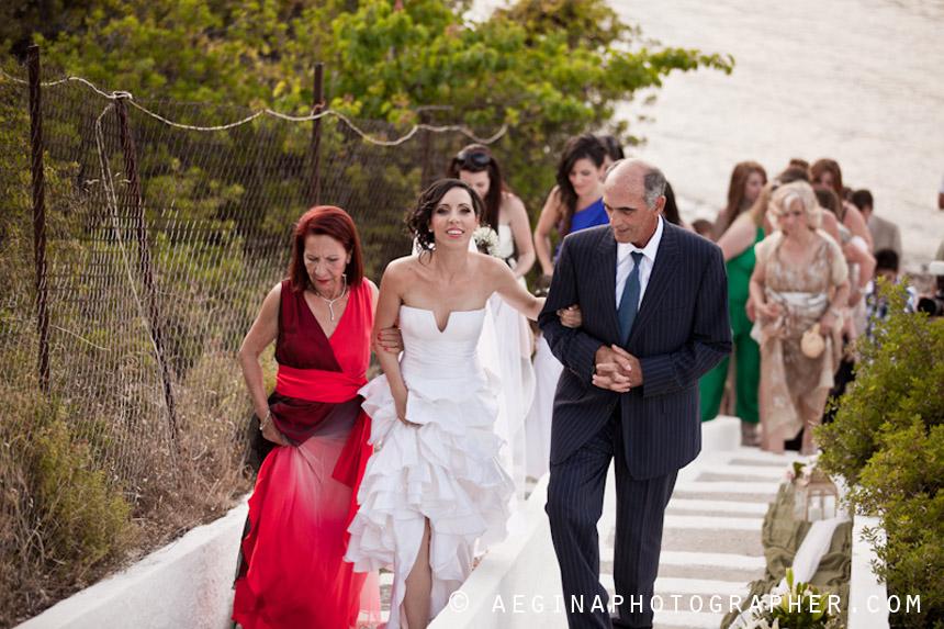 Γαμος Αγία Μαρίνα Αίγινας38