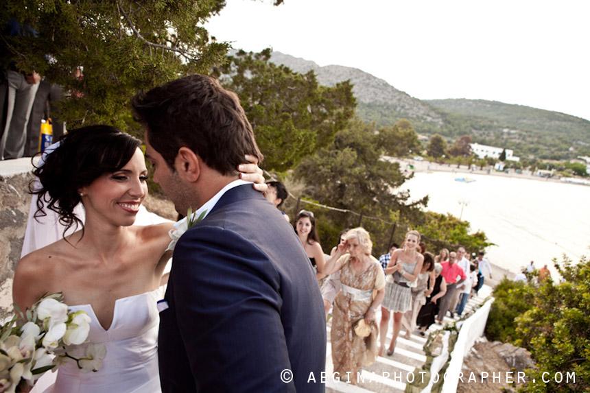 Γαμος Αγία Μαρίνα Αίγινας39