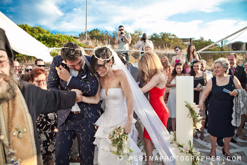 Γαμος Αγία Μαρίνα Αίγινας46