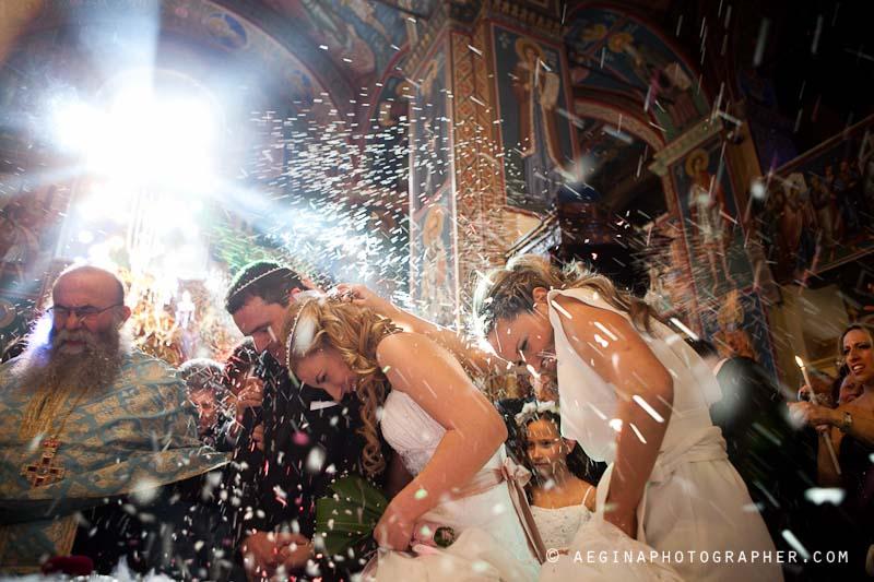 Βαγγέλης & Σοφία Γάμος στην Αίγινα