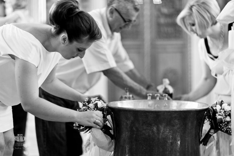 Βάπτιση στην Αγια Σοφία Ακρόπολης