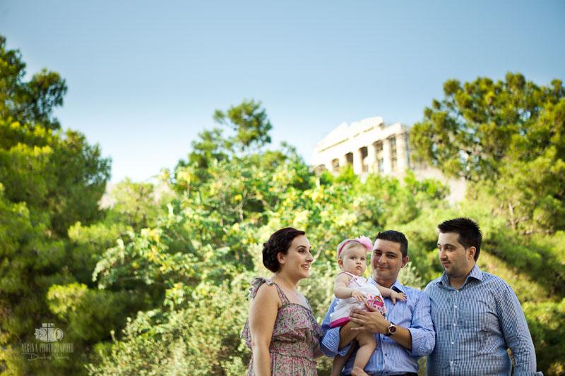 Stamatia Baptism in Acropolis Athens