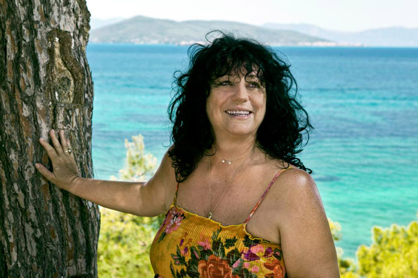 The Greek Actress Anna Vagena