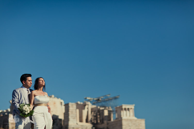 Catalina and Jaime Wedding From China to Athens Greece