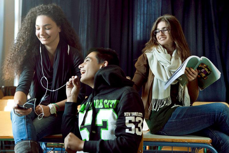 Φωτογράφιση Μαθητών για το Saronic Magazine