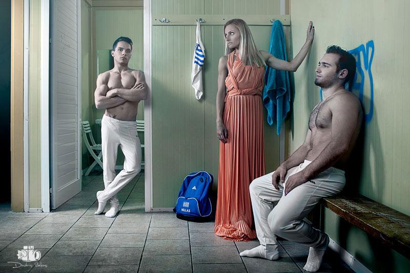 Greek World Champions - Photoshoot for Proto Thema News