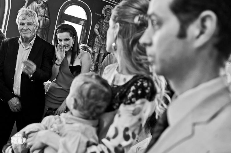 Φωτογραφίες Βάπτισης από την Παναγίτσα Πάχης Μεγάρων.