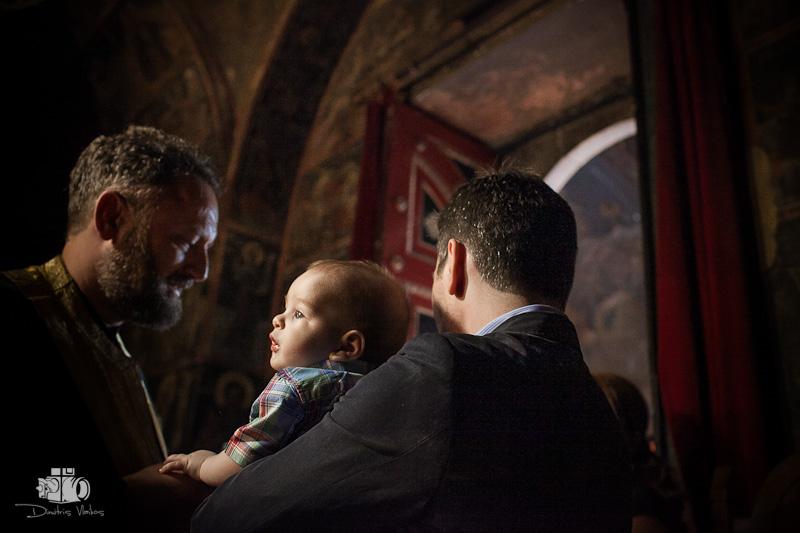 φωτογραφίες βάπτισης στην Μονή Πεντέλης - Vaptisi Moni Pedelis