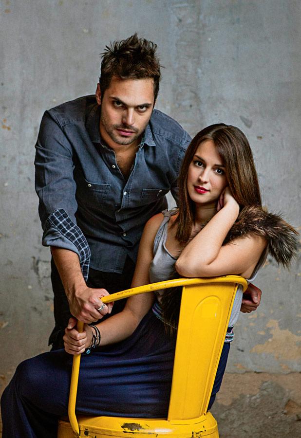 Greek Actors Vicky Papadopoulou and Yiorgos Papageorgiou for K Magazine