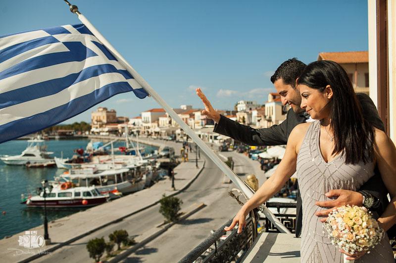 Wedding in Aegina Petros and Fotini