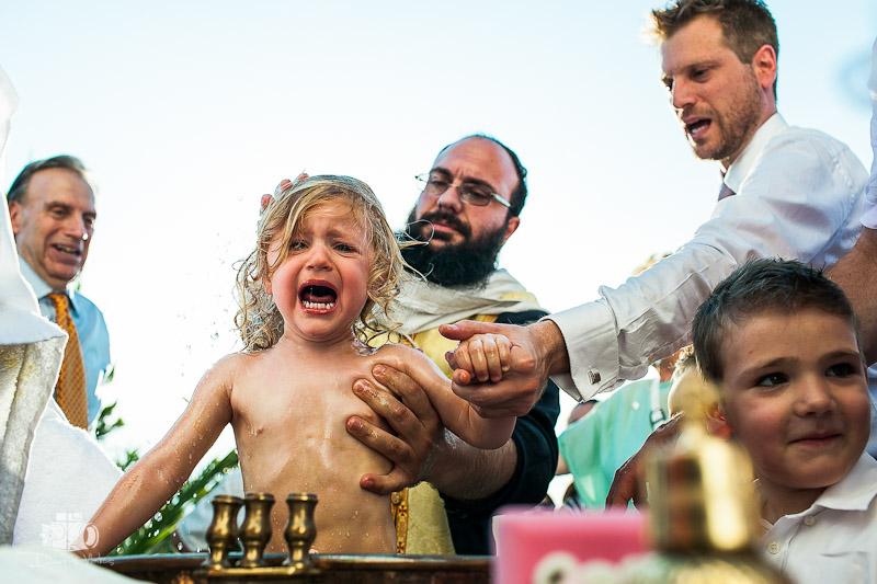 Βάπτιση στον Άγιο Πέτρο Σουνίου