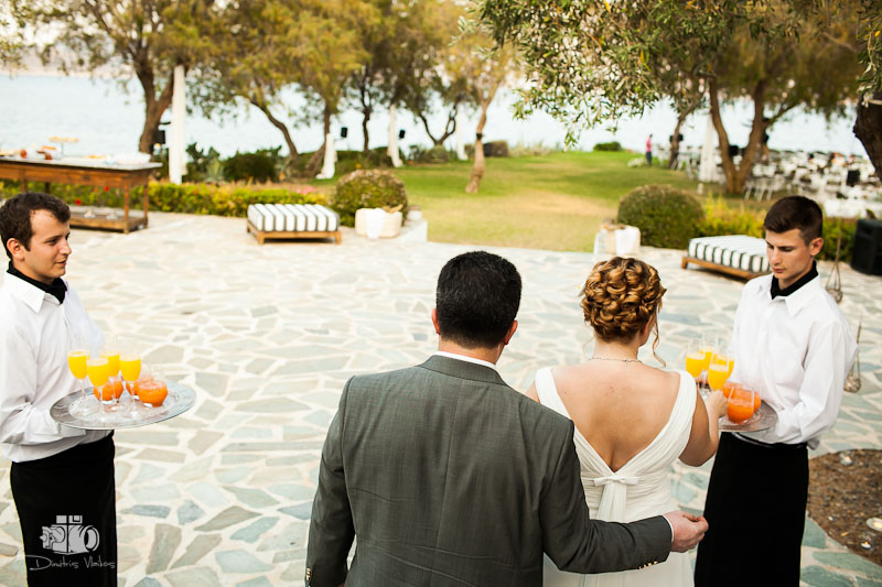 Wedding at Island Club Athens for Doris and Alexandros