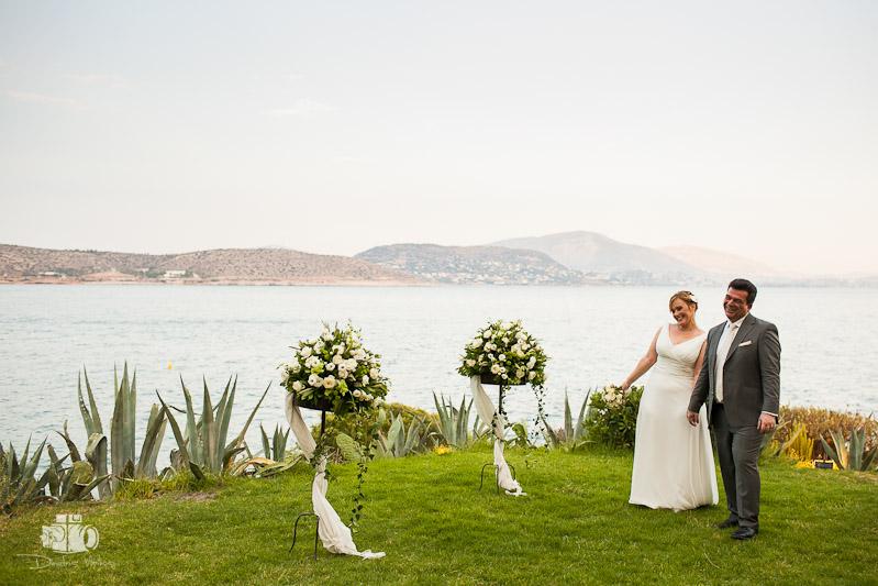 Wedding in Island Varkiza for Doris and Alexandros