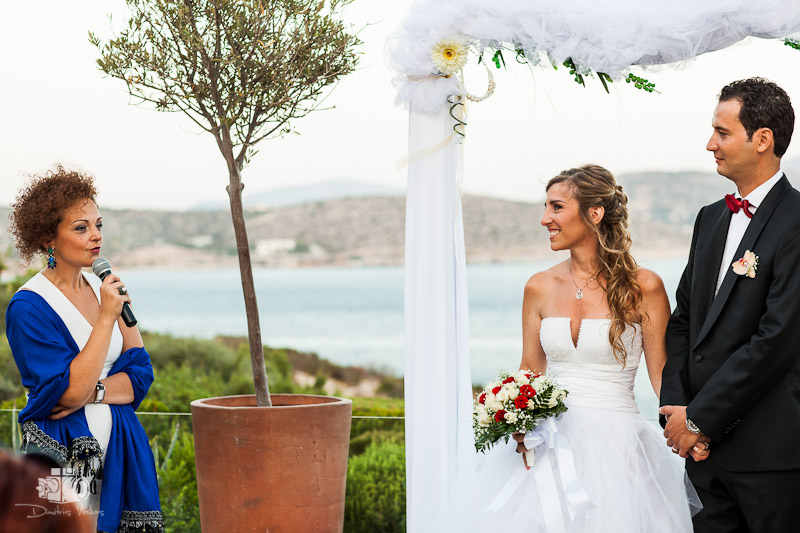 Wedding Photography at Island - Athens for Alvini and Tarik