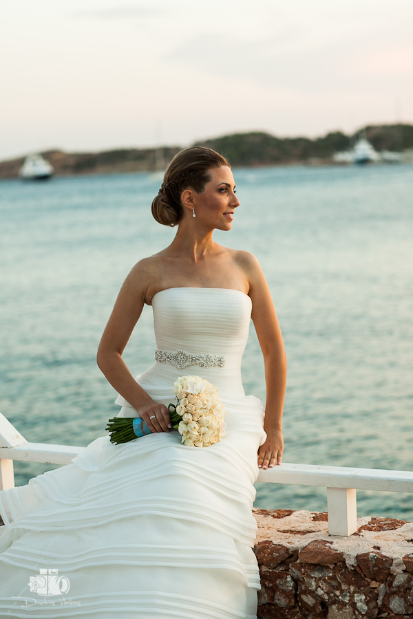 wedding photography at Vouliagmeni lake Athens Greece