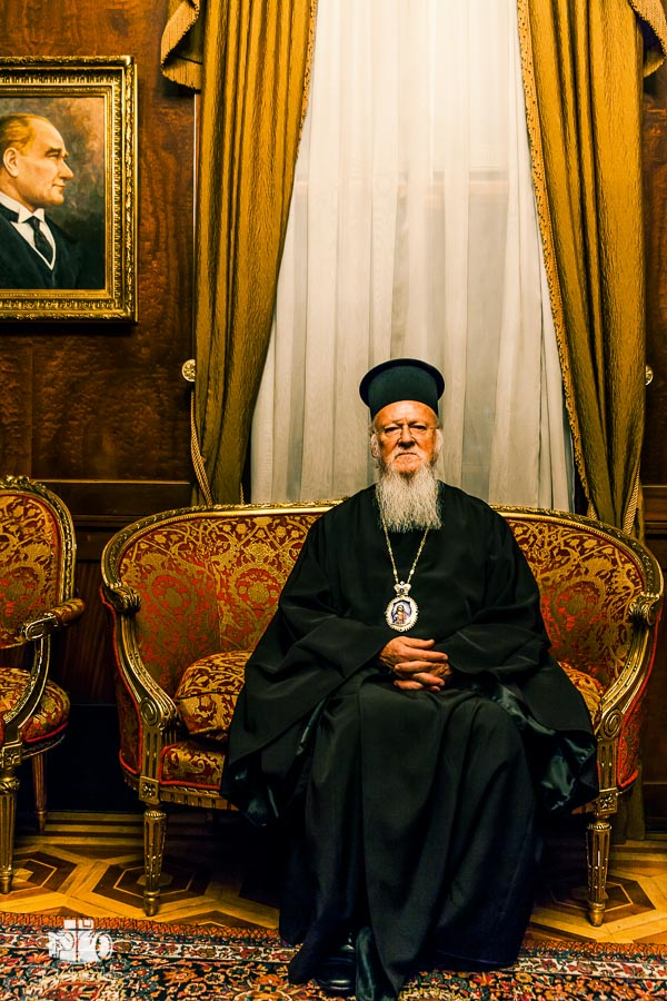 Portrait of the Ecumenical Patriarch of Constantinople Bartholomeos