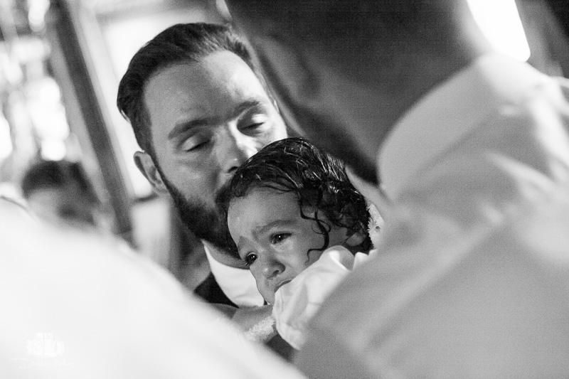 βάπτιση στην πλάκα