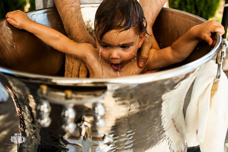 βάπτιση στον Άγιο Κοσμά Ελληνικό