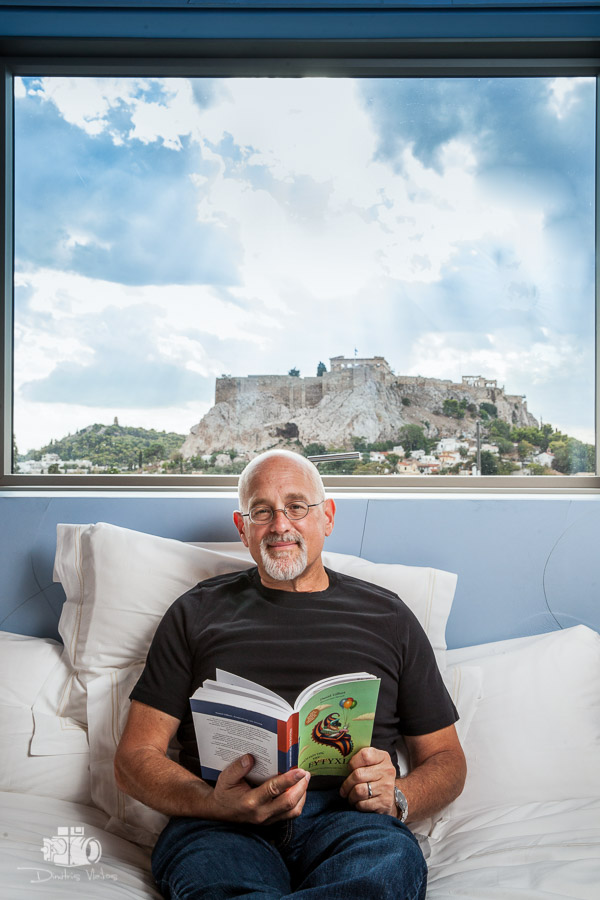 Psychologist Daniel Gilbert in Athens for K magazine