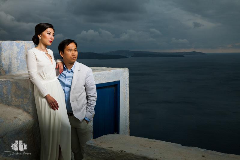 Μια Ιδιαίτερη Φωτογράφιση Γάμου στην Οία της Σαντορίνης