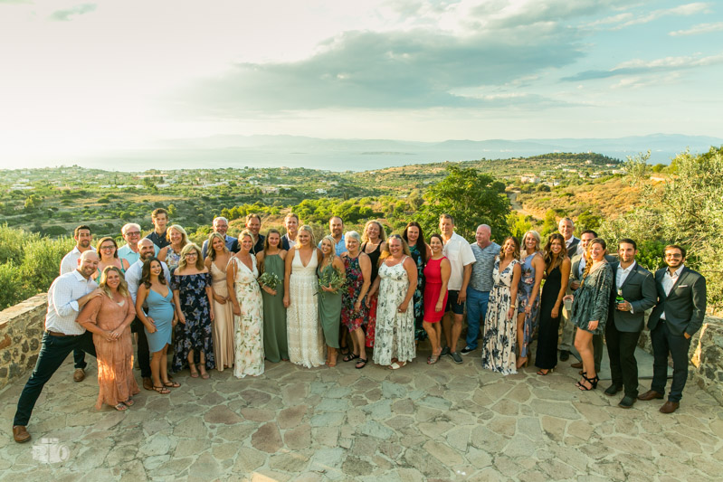 A Week-Long Wedding in Villa Terra Casa Aegina