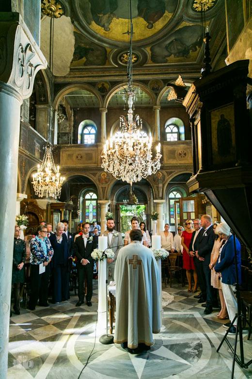 Ρομαντικός Γάμος στον Άγιο Νικόλα Ραγκαβά Πλάκα