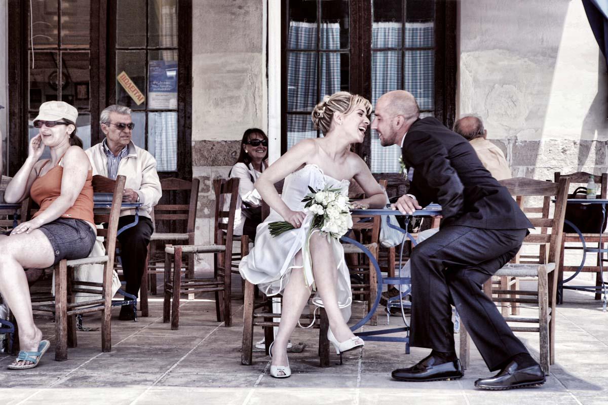 Φωτογράφος γάμου και ο γάμος στην Αίγινα
