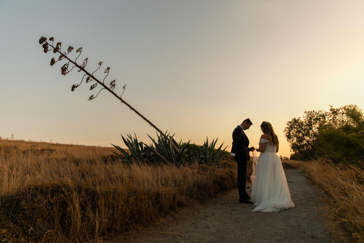 Fiona & Norbert wedding in Villa Aelia